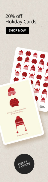 20% off Holiday Cards