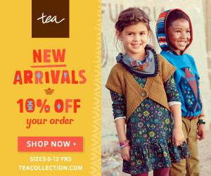 The Tea Collection Semi-Annual Sale – Extra 25% Off Sale Prices