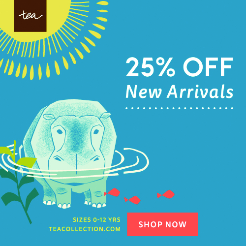 Tea's Memorial Day Sale – Take 20% off Everything + Free Shipping