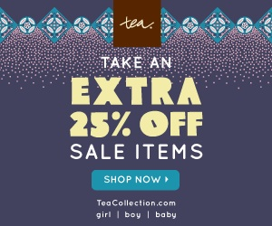 Tea Collection coupon code and sale