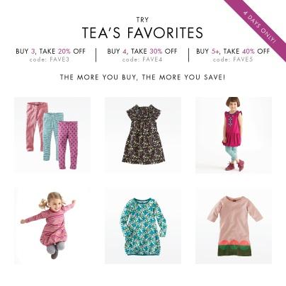 Tea Collection coupon code