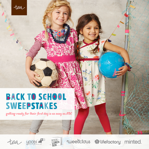 Tea Collection's Back to School Sweepstakes is Here!