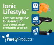 Compact negative ion generators - take a deep breath of vitamins in the air.