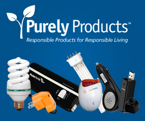 Purely Products - responsible products for responsible living