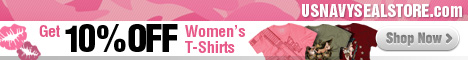 Get 10% Off Women's Military T-Shirts