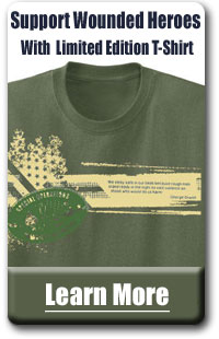 Support Wounded Heroes with Our T-Shirt