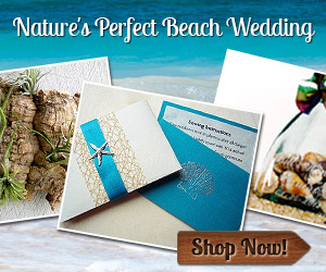 Beach Wedding Invitations, Favors and More