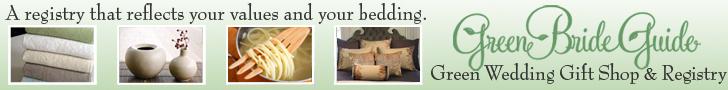 Green Bride Guide - create a green wedding gift registry