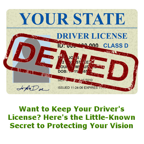 Want to Keep Your Driver's License? Here's the Little-Known Secret to Protecting Your Vision