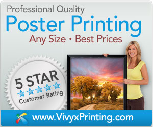 Professional Quality Poster Printing - 5 star customer rating!