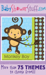 More than 75 themes to choose from at BabyShowerStuff.com!