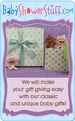 We will make your gift giving easy with our classic and unique baby gifts!