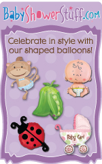 Celebrate in style with our shaped balloons!