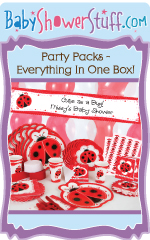 Baby Shower Party Packs - Everything in one box!