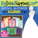 wedding and bridal shower favors