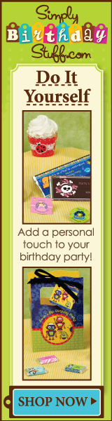 Add a personal touch to your birthday party with do it yourself ideas.