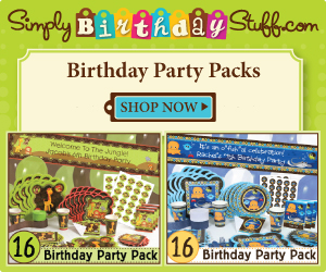 Shop Party Packs at SimplyBirthdayStuff.com
