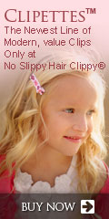 no slippy hair clippy, hair accessories, baby bows