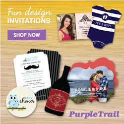 Beautiful custom invitations and cards
