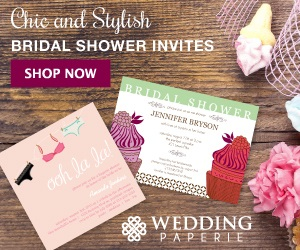 Bridal Shower Invitations by Wedding Paperie