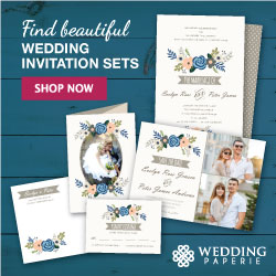 Beautiful custom wedding invitations and stationery cards