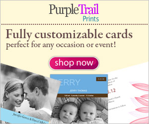 Purpletrail Customized Printed Cards