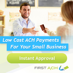 Low Cost ACH Payments for Small Business