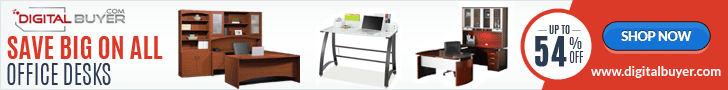 Everyday Low Prices on Office Desks at DigitalBuyer.com