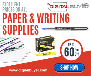 Everyday Low Prices on Printer & Copier Paper, Pens at DigitalBuyer.com