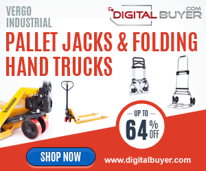 Everyday Low Prices on Vergo Pallet Jacks and Hand Trucks at DigitalBuyer.com