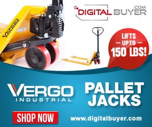 Everyday Low Price on the Vergo Pallet Jack at DigitalBuyer.com
