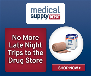 No more late night trips to the drug store - Shop at MedicalSupplyDepot.com!
