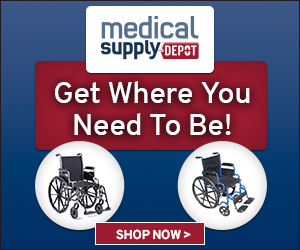 Get where you want to be with wheelchairs at MedicalSupplyDepot.com!