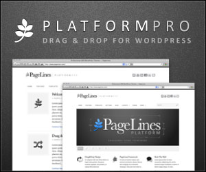 Platform Drag and Drop Design Framework for WordPress
