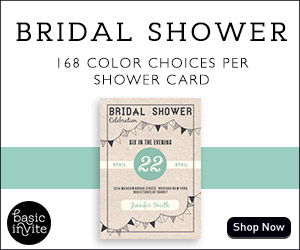 Preview Your Bridal Shower Invitations in Your Colors Instantly!