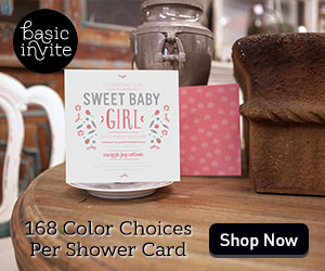 168 Color Choices Per Shower Card