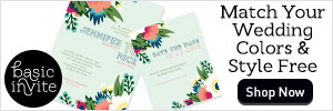 Match Your Wedding Colors &  Style For Free!