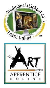 Online Painting Classes - Traditions Art School & Art Apprentice Online Art School