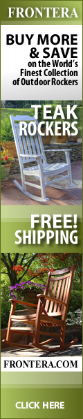 Teak Rockers- Free Shipping Frontera