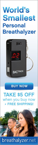 Shop Breathalyzer.net and take  $5 off a keychain breathalyze