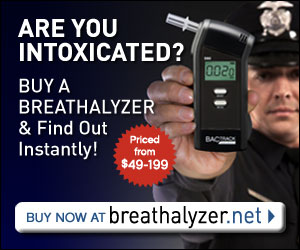 Are You Intoxicated? Find out with a Breathalyzer.