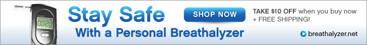 Shop Breathalyzer.net - Stay Safe and take $10 off your order