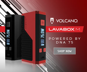 Volcano Lava box powered by DNA