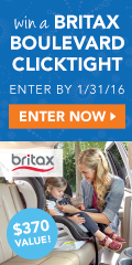 Enter to win a Britax Boulevard ClickTight Convertible Car Seat in the exclusive Dylan fabric!