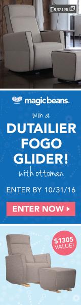 Win a Dutailier Fogo Glider!