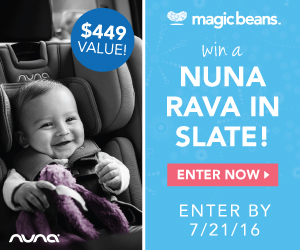 Win the NEW Nuna Rava Convertible Car Seat!