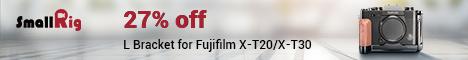Fujifilm X-T30/X-T20 L-bracket