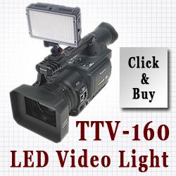 TTV-160 LED Video Light