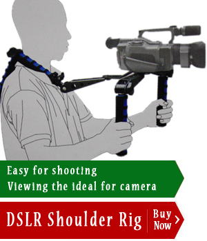 Cheapest DSLR Shoulder rig for camera