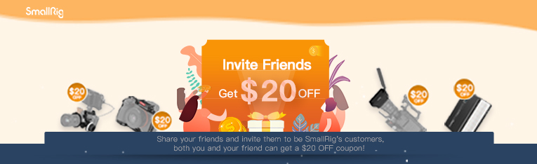 Invite Friend Get $20 Off Coupon
